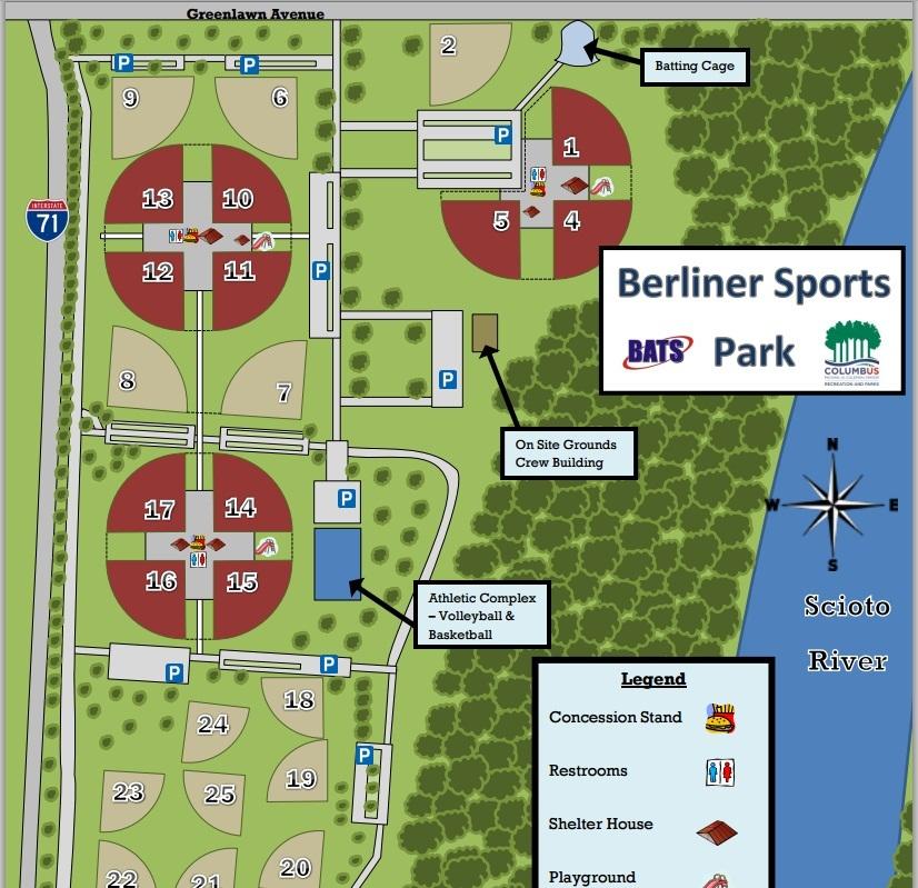 Berliner Park Map | compressportnederland